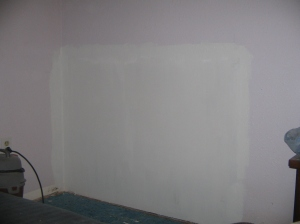 priming the wall